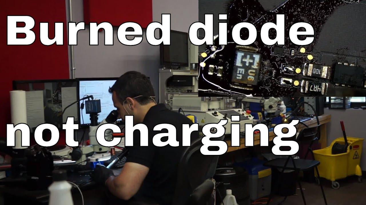 Macbook Air not charging after liquid: diagnosed ...