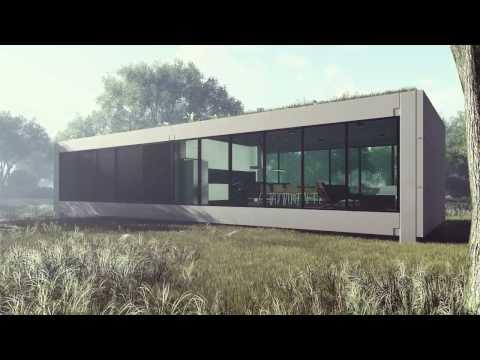 LOFT 001 - Casas Pré-Moldadas Ecológicas
