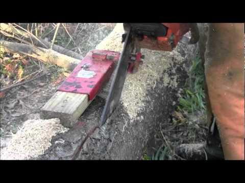 Micro mini chainsaw sawmill i had my doubts wow doovi