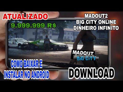 MadOut2 Big City Online Dinheiro Infinito - Como  e instalar no Android - ATUALIZADO 2019