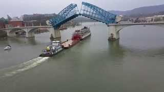 The Delta Queen Leaving Chattanooga