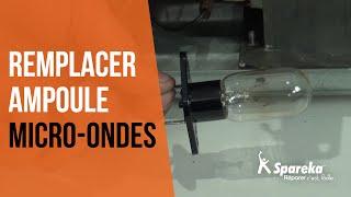 Comment réparer votre four à micro-ondes - Remplacer l'ampoule ?