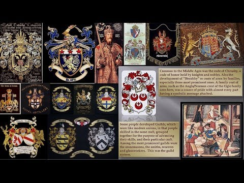 Andrew Bartzis - The Impact of Family Crests, Sacred Geometry Infrastructure Museums, Courts