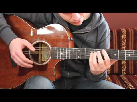 """How To Play """"Diamonds"""" By Ben Howard (guitar lesson / tutorial)"""