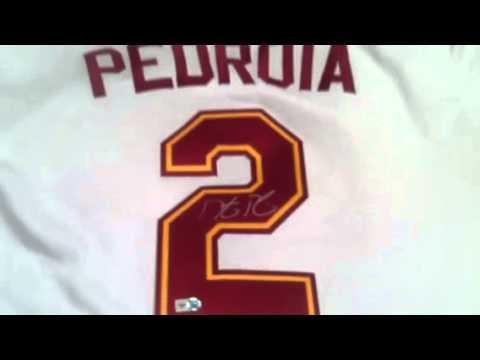 Dustin Pedroia Autographed Arizona State ASU Baseball Jersey Red Sox - MLB  Holo 3339fbabcba