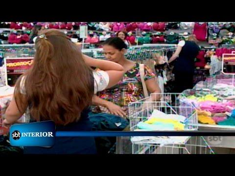 Lojistas não estão otimistas com o Dia das Mães na região