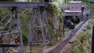 Model railroad operation on the Johnstown and Gerryville 20141129