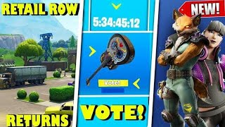 *NEW* Leaked Fortnite Season 10 Cosmetics, Retail Row, Item Shop Voting! (Fortnite Battle Royale)