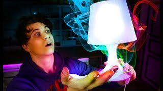 WiFi Controlled RGB Desk Lamp - Simple DIY/Ikea Hack!