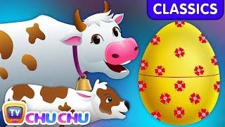 ChuChu TV Classics - Learn Baby Farm Animals & Animal Sounds   Surprise Eggs Wildlife Toys