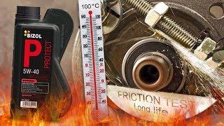 Bizol Protect 5W40 Jak skutecznie olej chroni silnik? 100°C