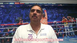 ABEL SANCHEZ EXPLAINS WHY PACQUIAO VS CRAWFORD ISN'T POSSIBLE JUST YET- EsNews Boxing