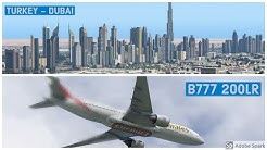 Flight Factor B777 - 200LR BSS Soundpack     Paris - Beirut   Vatsim