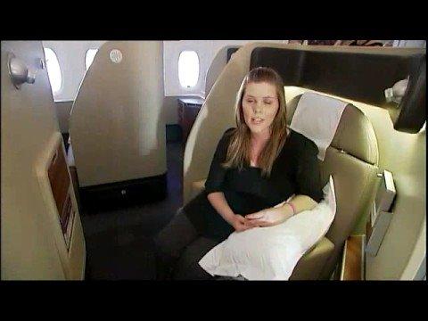 Inside the new Qantas A380 - YouTube
