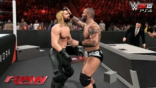 Randy Orton Destroys Seth Rollins Before WWE Hell in a Cell 2015 - WWE 2K15