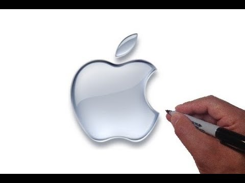 How To Draw The Apple Logo Luchshie Prikoly Samoe Prikolnoe
