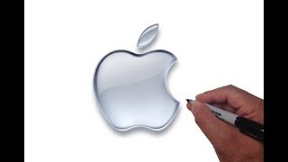 How to Draw the Apple Logo