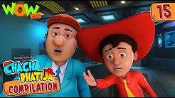 Chacha Bhatija Compilation 15 Funny Animated Stories