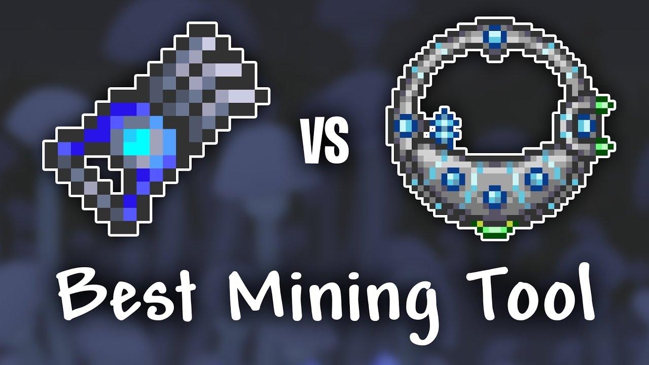 Shroomite Digging Claw vs Drill Containment Unit - Terraria 1 3