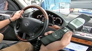 One of The Last Car Phones For Sale in the USA in 2003