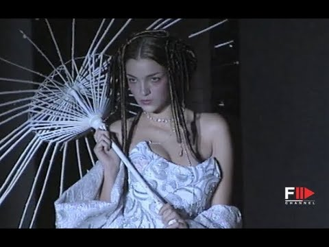 FRANCO CIAMBELLA Fall Winter 1998 1999 Haute Couture Rome - Fashion Channel