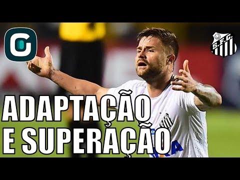 Sasha Fala De Adaptação E Superação No Santos- Gazeta Esportiva (16/02/18)