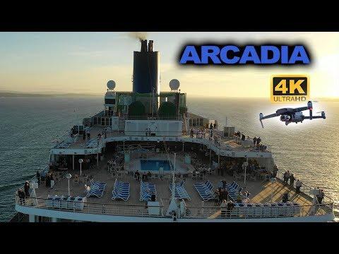 Arcadia Cruise Ship Chased By Mavic 2 Pro