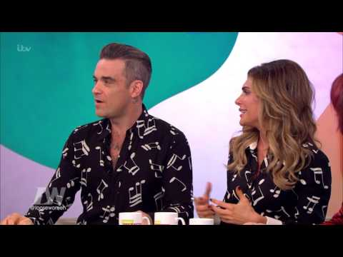 Robbie And Ayda Wonder When They Can Post Pictures Of Their Children | Loose Women