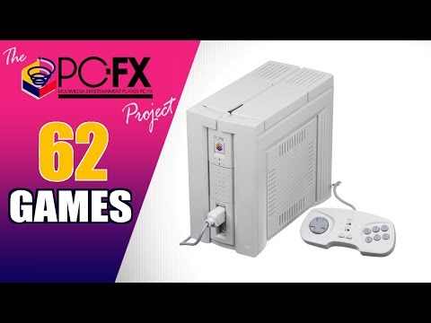 The NEC PC-FX Project - All 62 PC-FX Games - Every Game (JP)