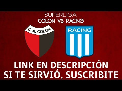 COMO VER COLON VS RACING EN VIVO