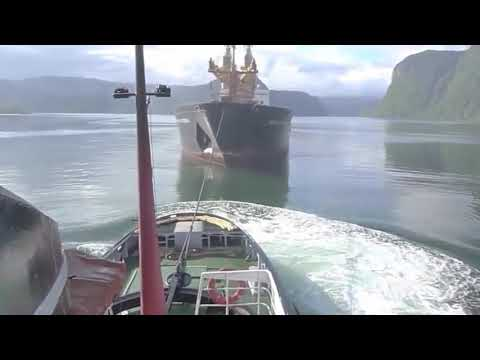 Tugboat In Action