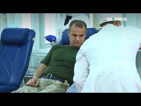 «Брати по крові»: рівненські військові підхопили естафету та здали кров для дітей