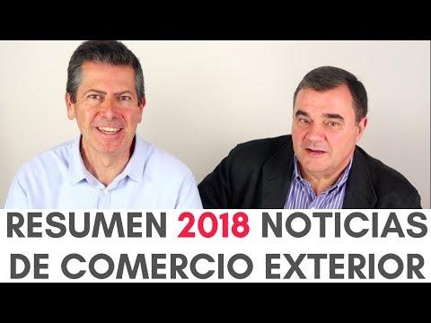 Resumen 2018 Noticias sobre Comercio Exterior