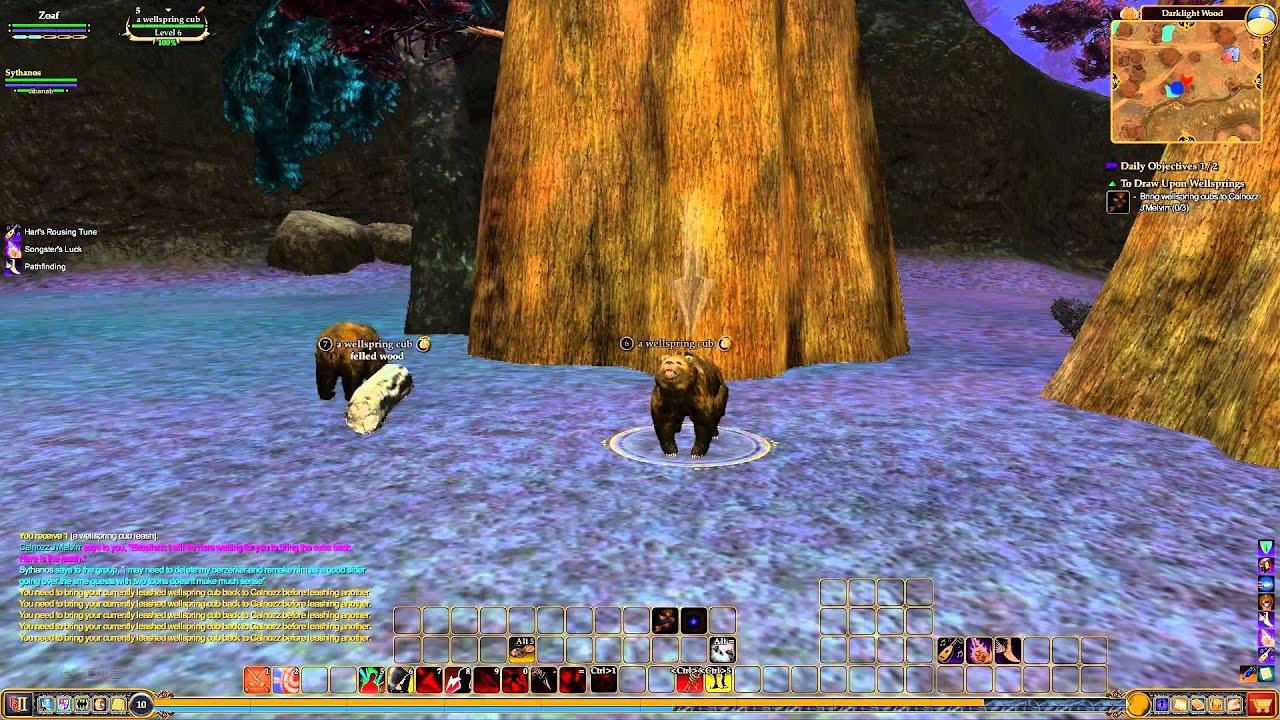 Everquest 2 Darklight Wood Calnozz J Melvirr To Draw Upon