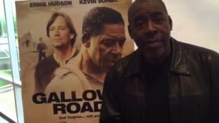 Ernie Hudson talks about Gallows Road, filmed in Aledo