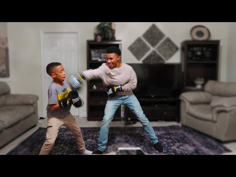 It Got Real Between Me and My Little Brother!