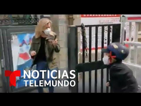 Janis Mackey, Reportera De NBC News, Se Reencuentra Con Su Hijo   Noticias Telemundo