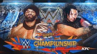 WWE Summerslam 2017 World Championship Match Simulation/Prediction (WWE 2K17)