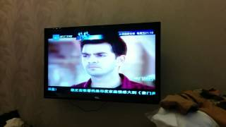 Indian soap opera dubbed in Chinese.
