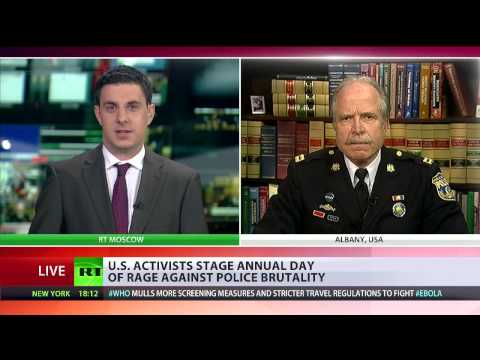 Captain Ray Lewis interview with RT International on police brutality