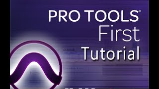 AVID Pro Tools First 2019 - Tutorial for Beginners in 12 MINS [+ Overview]