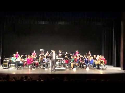 Mortimer Jordan High School 2019 Christmas Concert Symphonic Band