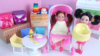 Новые Родители Отводят Катю в Детский Сад! Мультики Куклы Барби Игрушки Для девочек IkuklaTV