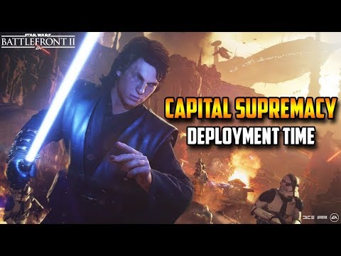 Capital Supremacy Deployment Time! Star Wars Battlefront 2 thumbnail