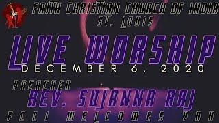 FCCIndia Live Worship 12/06/2020 | FCCI St. Louis