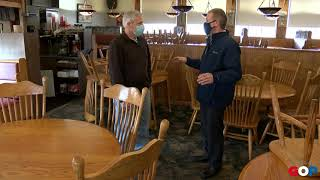 CLOSED | Sen. Lauwers visits Peppermill Restaurant in Bad Axe
