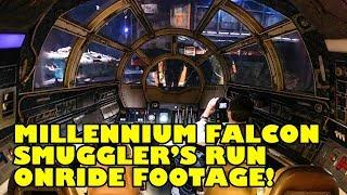 We Flew the Millennium Falcon! Smugglers Run Onride POV Ridercam Star Wars Galaxy's Edge Disneyland