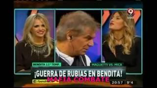 MICA VICICONTE vs Alejandra Maglietti (bendita 26/07/2016)