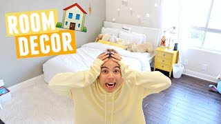 PLANNING NEW ROOM DECOR FOR MY ROOM | Move In Vlogs!
