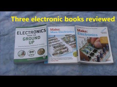 Three basic electronics books reviewed